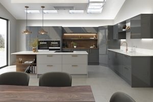 LochAnna Kitchens Launches New Mala Collection Lochanna Kitchens - Grey copper kitchen